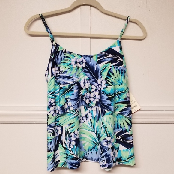 St. John's Bay Other - NWT St. Johns Bay Floral Tankini Size 8